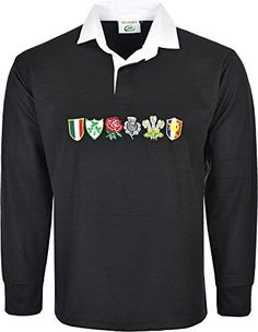 Unknown Men 6 Nation Full Sleeve Rugby Fan Shirts Size S to 5xl (L, BLACK) BRAND NEW 6 NATION RUGBY FAN SHIRTS FRONT PLACKET AND SIDE SLIT EASY TO WEAR AND SET DOWN VERY CASUAL SHIRTS SIZE AS FOLLOWING S=36/38 M=38/40 L42/44 XL 44/46 2XL 46/48 3 (Barcode EAN = 5053361880489) http://www.comparestoreprices.co.uk/december-2016-5/unknown-men-6-nation-full-sleeve-rugby-fan-shirts-size-s-to-5xl-l-black-.asp