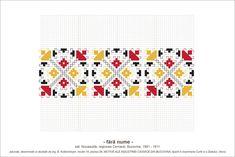 Semne Cusute: MOTIVE: (P39, M10) Folk Embroidery, Hama Beads, Beading Patterns, Blackwork, Pixel Art, Stencils, Diy And Crafts, Cross Stitch, Traditional