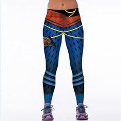 Women Leggings Fitness workout style printed