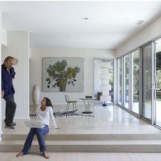 mid century modern house tour rachel griffith living 1