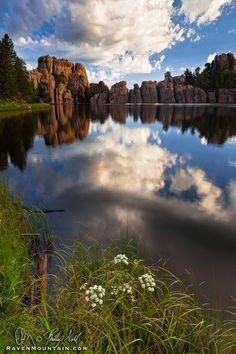 Sylvan Lake, Custer State Park, South Dakota; photo by Phillip Noll