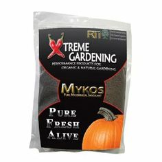 "RTI Xtreme Gardening 4402 Mykos, 2.2-Pound Bag by Xtreme Gardening. $22.97. Balances nutrient supply. Increases immunity to stress, including drought, disease and pests. Higher levels of viamins and minerals, healthier crops. Improves soil texture, application is once per year at planting. Superior nutrient management. Mykos is a fast-growing, beneficial fungi that connects many of the eneficial microbes in the soil to host plants.  This ""symbiotic"" relationship inceases..."