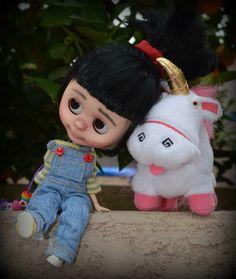 OOAK Blyh doll Agnes by Mary Blythe Customs