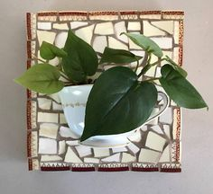 Vintage Mosaic Wall Cup-FREE SHIPPING