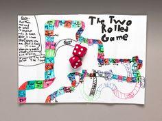 Shake, Roll, Move! Board Game craft