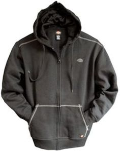 Fleece Full Zip Hoodies | Men's Jackets & Coats | Dickies.com