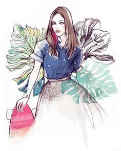Fashion Illustrations by Soleil Ignacio