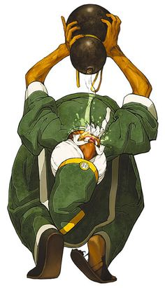 View an image titled 'Chin Gentsai Art' in our The King of Fighters 2002 art gallery featuring official character designs, concept art, and promo pictures. Art Of Fighting, Fighting Games, Game Character Design, Character Art, Dbz, Snk King Of Fighters, We The Kings, Marvel, Manga Games