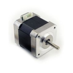 This is great stepper motor to build your 3d printer or other robotic project. Low cost and reliable. Connection cable is included. Technical Specs - Mass: 0.38 kg - Step Angle: 1.8 deg - Driver Volta