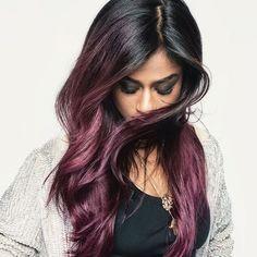 Valentine prep  @vashtie slays in #violethair  Get the look with Colorista Paint #lorealhair #lorealparis #violet #purplehair #colorista #doityourway #valentineslook #lorealvalentines #haircolor