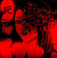 Red Aesthetic Grunge, Aesthetic Gif, Retro Aesthetic, Arte 8 Bits, Arte Obscura, Gothic Anime, Glitch Art, Creepy Art, Dark Photography