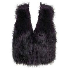 The Fur Vest!   This winter will most def be a fur affair :-)