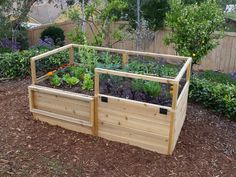 8 Awesome Raised Bed Ideas >> http://www.diynetwork.com/made-and-remade/find-it/raised-bed-options?soc=pinterest