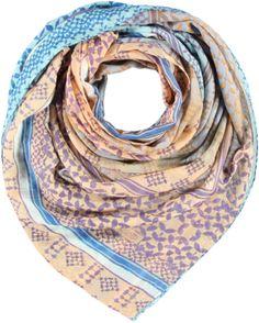 Passigatti Sjaal - Jade Blauw | Luxedy 35,95 euro www.luxedy.com