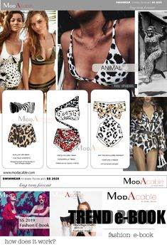 Ss 2020 Swimwear Trends Ss 2020 Swimwear Trends Ss 2020 Swimwear Trends Only At Www Modacable Com All The Long Term Fashion Swimwear Accessories Trends Only At Www Modacable Com Fashion Trends 2018, Fashion 2020, Daily Fashion, Bikinis, Bikini Swimwear, Swimsuits, Fashion Forecasting, Summer Fashion Outfits, Beach Outfits
