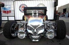 Grim reaper on wheels