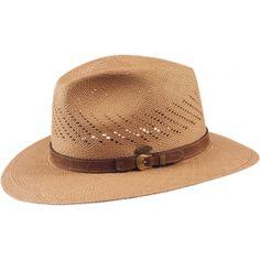 Sombrero de hombre para verano de fibras Panamá en Pingleton Hats Sombreros  De Verano 659a3a4e9c9