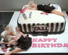 vomiting barbie cake