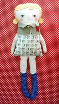like the face/doll jacket/medal...