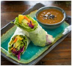 Featured from the Tone It Up Nutrition Plan ~ Mango Thai Wrap!