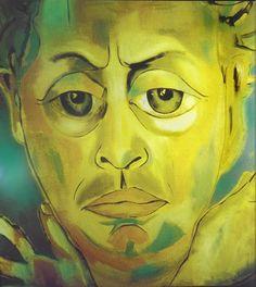 Self-portrait by Francesco Clemente