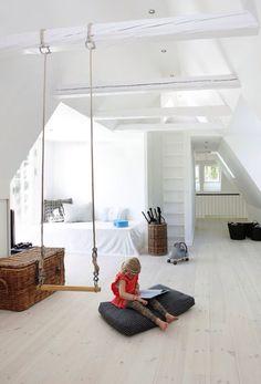 Swing in room