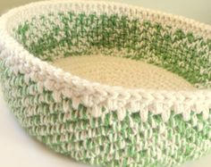Big, Large Cat Bed, Crochet Cat Bed For 2, Green Pet Bed, Photography Prop, Momma Cat Litter Pet Bed, Soft Foldable Travel Bed Easter Basket