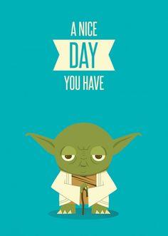 Yoda is so cute