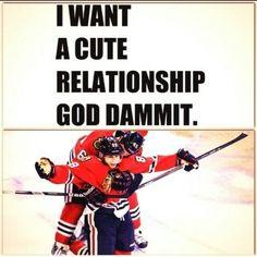 Lol. I want a cute relationship