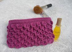 Hjemmelaget: mars 2012 Lace Shorts, Coin Purse, Purses, Wallet, Knitting, Crochet, How To Make, Women, Fashion
