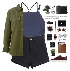 """""""It's a spell that can't be broken / 21.47"""" by shaniaayr ❤ liked on Polyvore featuring Topshop, Alexander Wang, Lux-Art Silks, BCBGMAXAZRIA, NARS Cosmetics, Common Projects, Acne Studios, Mulberry, ASOS and DEOS"""
