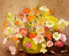flower paintings by laura jones