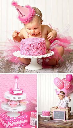 This is the cutest 1st birthday idea!