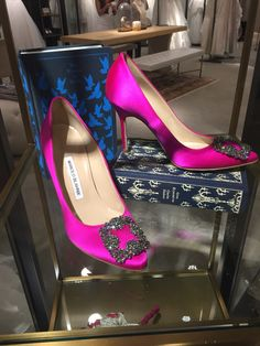 And in pink #manoloblahnik