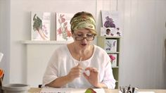 How to Paint a Hydrangea Leaf Tutorial Preview by Billy Showell