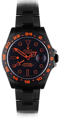 Rolex - Bamford SE Explorer II (NEW) - Stealth Flame