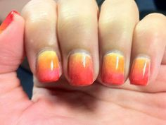 Polish My Pretty Nails: Sunset Gradient
