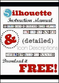 Silhouette School: Silhouette Instruction Manual & Studio Tool Descriptions