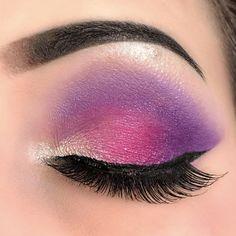 21 Purple Eyeshadow Looks for Brown Eyes > CherryCherryBeauty.com • Source: serenity_vanity / Instagram