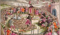 Lollards beheaded by Henry V in 1415 for The Southampton Plot