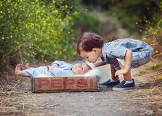 Love outdoor pics this is so cute. I would like if baby was sleeping