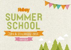 Folksy Summer School by Lydia Lapinski, via Behance CORES