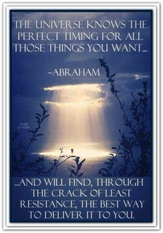 ~ Abraham-Hicks