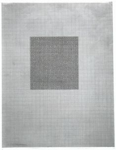 Repetition as a formal and conceptual strategy has been employed by artist Eva Hesse (1936-1970) throughout her career with series of drawings on graph paper. Repeating shapes (as circles or x's filling tiny squares) served to emphasize accumulation, avoiding the rationality of other Minimal...