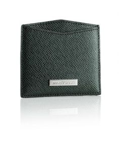 Green Leather All You Need Card Holder