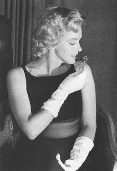 Marilyn at The Savoy Hotel for a Press Conference regarding The Prince and The Showgirl in July 1956.