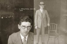 Australian mugshots from the '20s