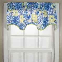 Matisse Scallop Valance in 3 colors