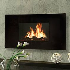 electric fireplace   Stay Warm 40-Inch Electric Fireplace Heater ...