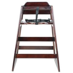 Excellante Wooden High Chair Walnut Packaging May Vary *** See this great product.